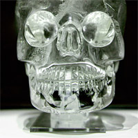 The crystal skull, Collection of the British Museum in London. Rafał Chałgasiewicz, CC BY