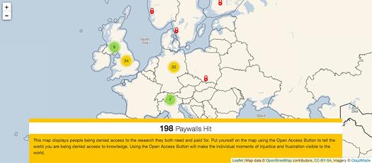 Screenshot: openaccessbutton.org