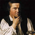 """Paul Revere (1734-1818) war Silberschmied, Buchdrucker, Grafiker und US-amerikanischer Revolutionär. Seine Rolle als Nachrichtenkurier für die """"Bostoner Patrioten"""" im Unabhängkeitskrieg machte ihn später zum Nationalhelden. Bekannt wurde auch sein Kupferstich des """"Boston Massacre"""" (s.o.). Porträt: John Singleton Copley."""