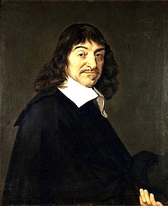 Descartes: The man who tried to be an island? Rene Decartes, Portrait von Frans Hals.
