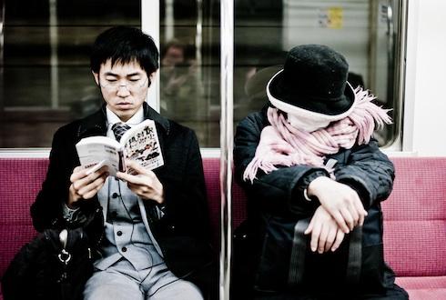 """Foto: """"Metro Sleepers"""", © Yanidel"""