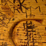 """Carvings on the tables at the Nassau Inn"""