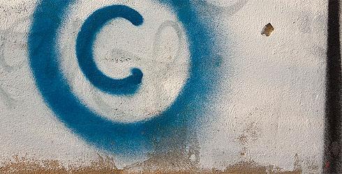 copyright-urheberrecht-wall