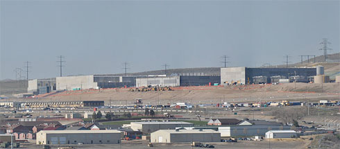 "Das Data Center der ""Intelligence Community"" in Utah. Foto: Swilsonmc, CC BY-SA"