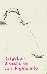 Ratgeber-Broschüren von iRights.info