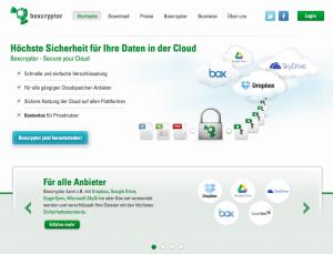 Boxcryptor verschlüsselt alle Daten, bevor sie in populären Cloud-Diensten wie Dropbox, OneDrive, Google Drive oder Box landen. Für Privatleute ist die Software kostenlos  auf dem Desktop.
