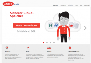 Wuala: Der Cloud-Dienst aus der Schweiz verschlüsselt alle Daten bereits im Rechner oder Mobilgerät. Gut: Deutschsprachige Benutzeroberfläche, aber kein kostenloser Test möglich.