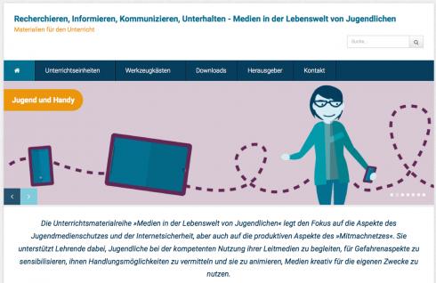 Screenshot: medien-in-die-schule.de