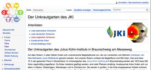 Screenshot: hoffene-naturfuehrer.de