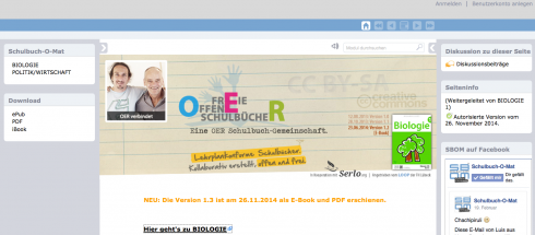 Screenshot: schulbuch-o-mat.de