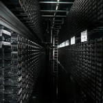 Cory_Doctorow-Tape_library_CERN-CCBYSA