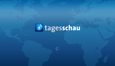 Die Tagesschau-App (Screenshot)