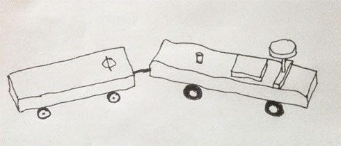 Milchfahrzeug