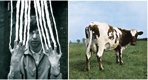 Collage Hipgnosis-Cover Peter Gabriel 2 Scratch Pink Floyd Atomheart Mother