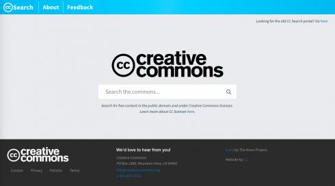 CC-Search.new Startseite