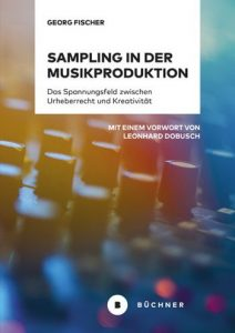 Georg Fischer: Sampling in der Musikproduktion, Buchcover