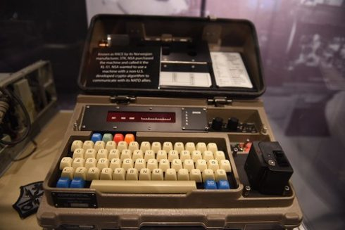 NSA National Cryptologic Museum Cipher Machine