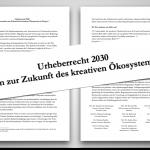 Aufmacher Interview K. Durantaye zum Memorandum UrhR 2030
