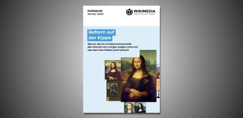 Aufmacher Meldung Wikimedia-Politikbrief