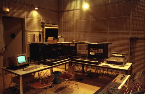 An_IRCAM_studio_in_1989